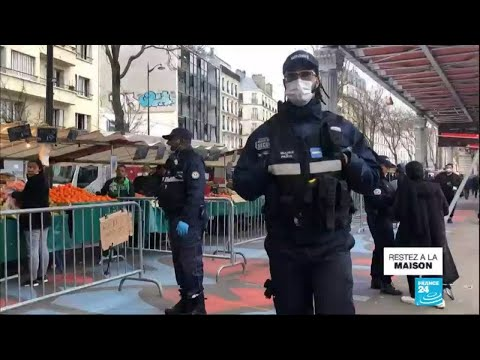Coronavirus - Covid-19 En France : Le Gouvernement Durcit Les Règles Du Confinement