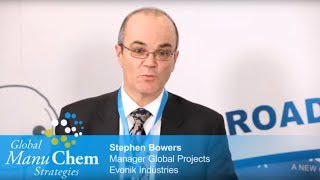 Interview with Stephen Bowers, Manager Global Projects at Evonik Industries / Germany