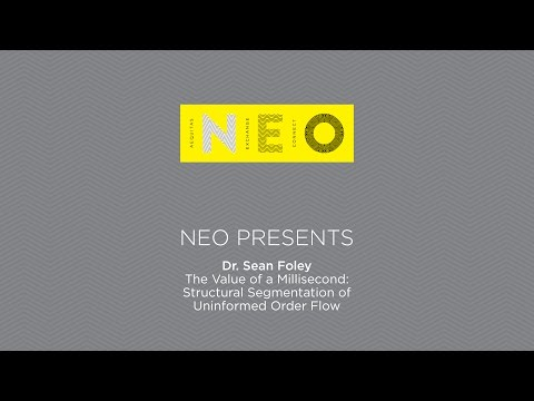 The Value of a Millisecond - NEO Presents Dr. Sean Foley
