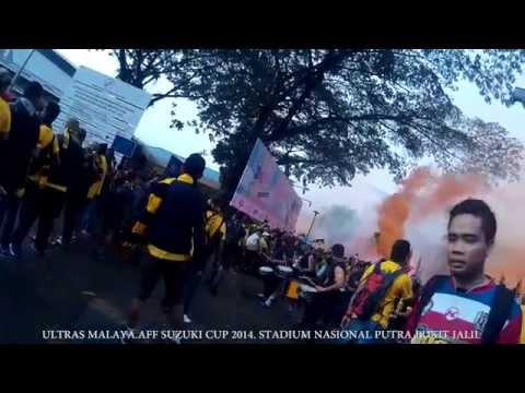 Ultras Malaya AFF Suzuki CUP 2014 Bukit jalil