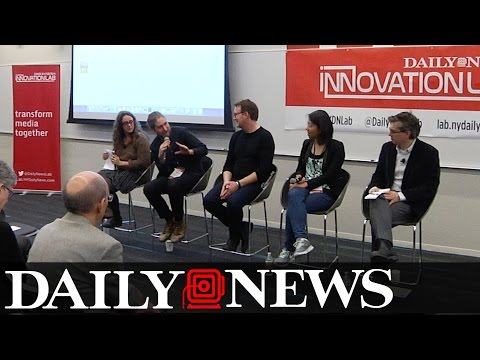 Daily News Innovation Lab: How Data is Changing Media Companies (Full Panel)