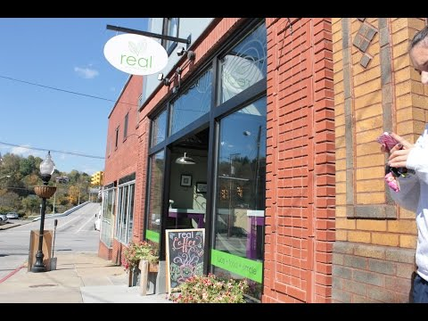 Real Juice Bar and Cafe Owner Ruth Haas