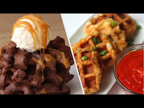 Waffle Recipes For The Perfect Breakfast
