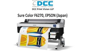 Epson Sc F6270 For Dye Sublimation Printing From Dcc Youtube