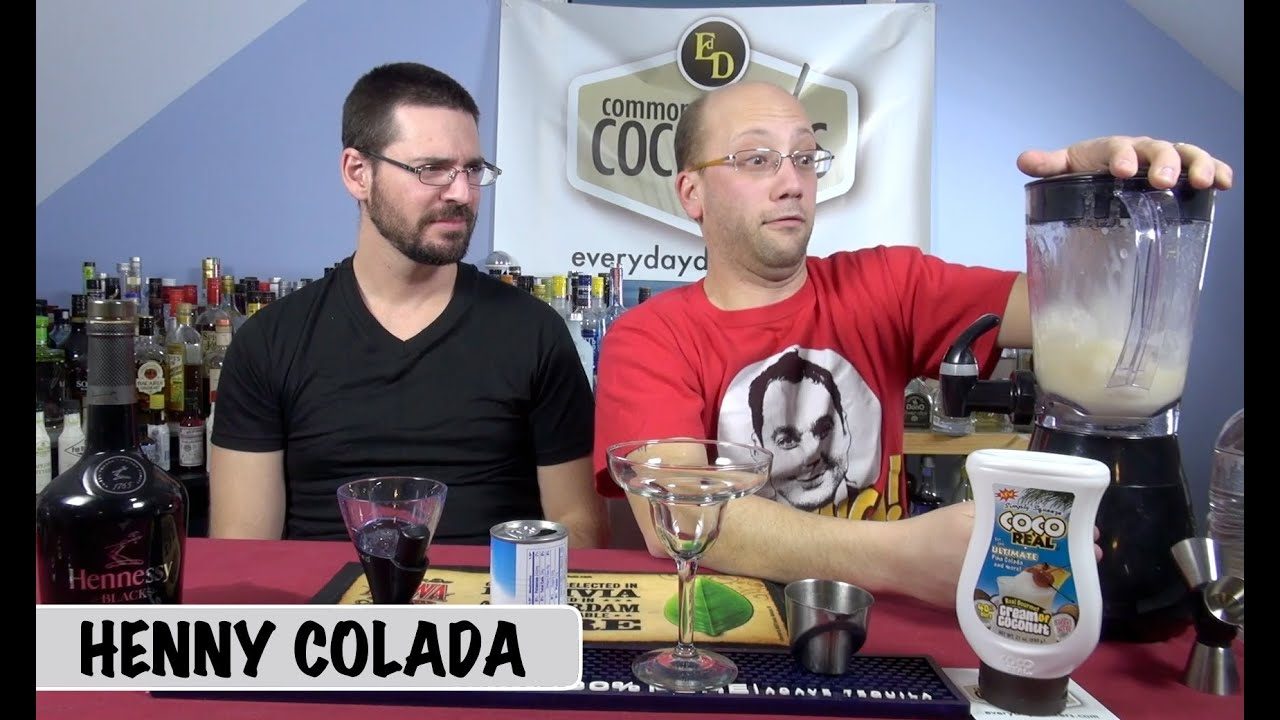 Henny Colada Blended Cocktail How To Youtube