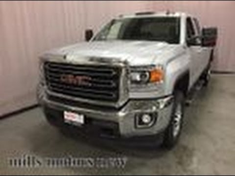 2017 gmc sierra 2500hd sle 4wd double cab z71 suspension heated seats silver oshawa on stock. Black Bedroom Furniture Sets. Home Design Ideas