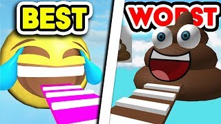 Playing the BEST VS WORST Obby in Roblox!