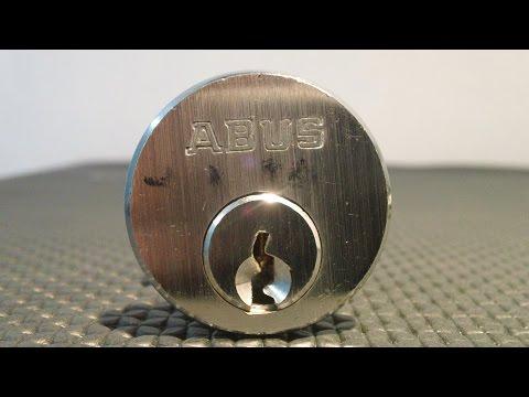 Взлом отмычками ABUS Mod J J 80   Lockpicking Abus Mod J J 80 ()