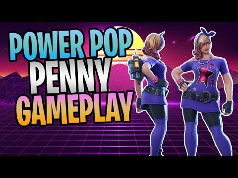 FORTNITE - New POWER POP PENNY Rad Constructor Save The World Gameplay