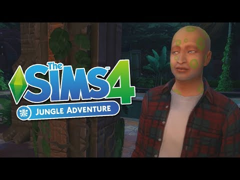 Sims 4: Jungle Adventure - JON THOR vs HUTAN RIMBA !! |