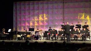 Wilson High School Jazz Band on 4/6/18 at Hempfield Jazz Fest.