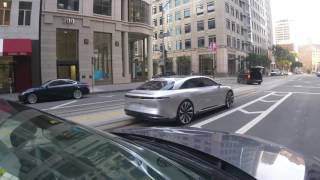 2018 Lucid Air Spotted in San Francisco