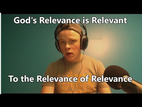 God is More Relevant than Santa, Therefore God is Real