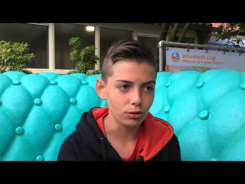 On the couch - Olivier Rojas at the Windmill Cup
