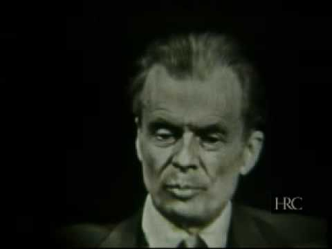 The Mike Wallace Interview: Aldous Huxley (1958-05-18)
