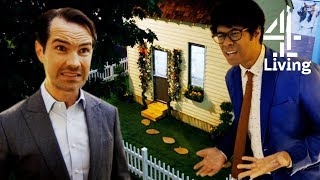 Exploring Micro Home with 5 Rooms in 1 with Jimmy Carr & Richard Ayoade | Gadget Man