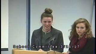 School Committee 3/16/17