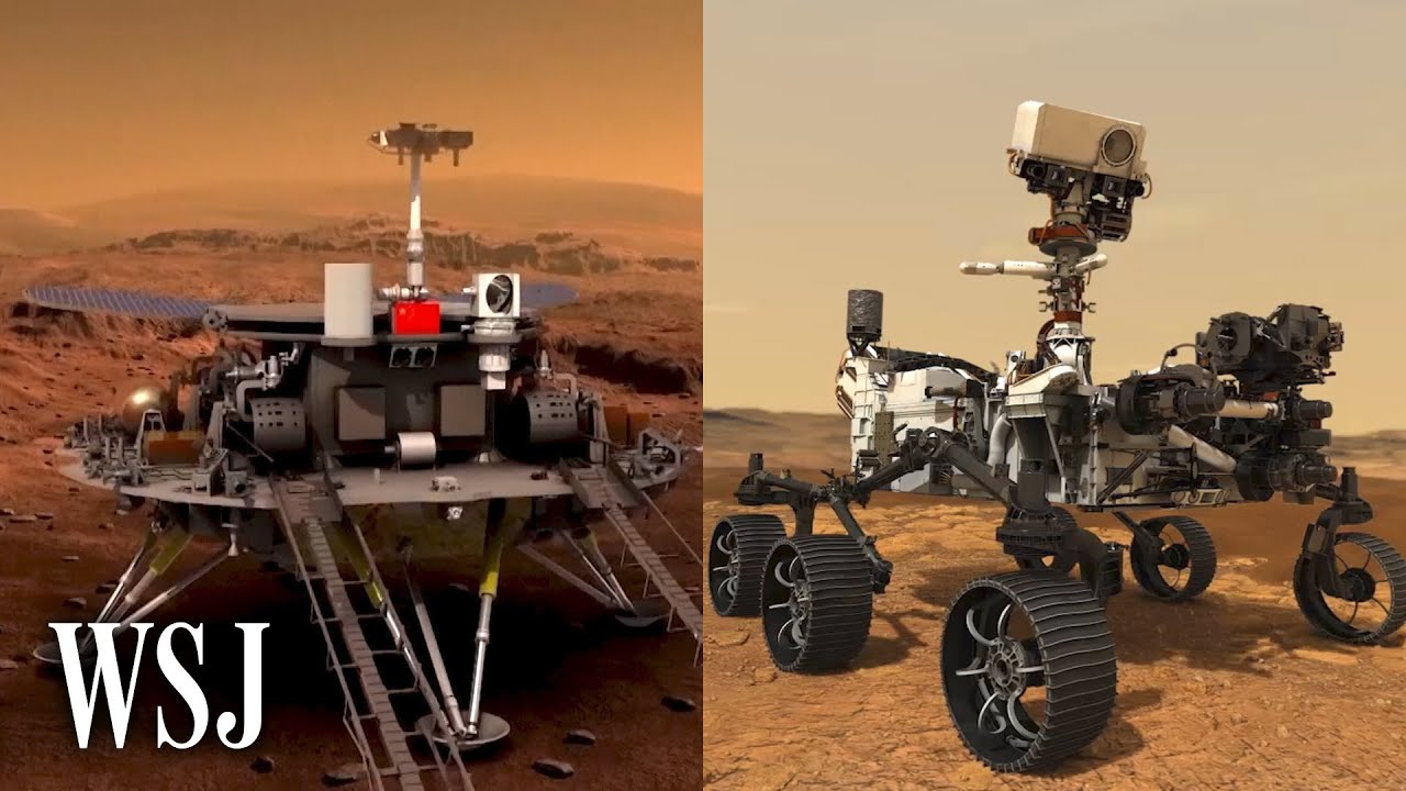 China's Zhurong vs. NASA's Perseverance: Rover Tech in Mars Space Race   WSJ