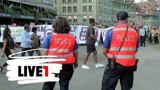 Bern: Abtreibungsgegner demonstrieren unter Polizeischutz