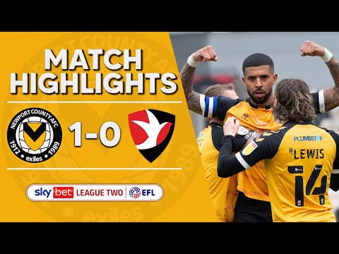 Newport Cheltenham Goals And Highlights