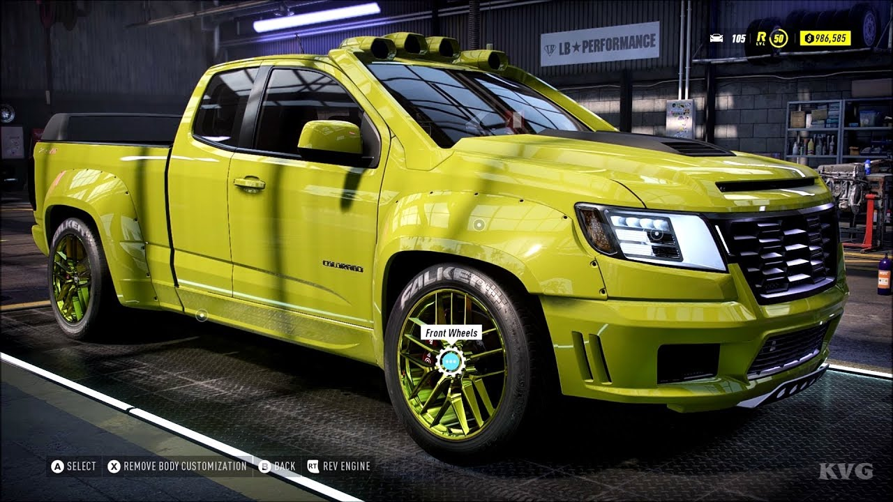 Need For Speed Heat Chevrolet Colorado Zr2 2017 Customize