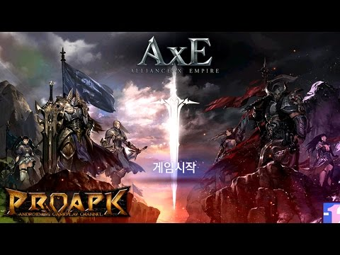 AxE - Alliance X Empire Android Gameplay (Open World MMORPG) (by NEXON) (CBT) (KR)