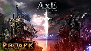 AxE - Alliance x Empire Android Gameplay (Open World MMORPG) (by NEXON) (CBT) (KR)