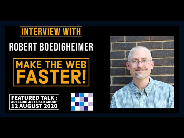 Interview with Robert Boedigheimer - featured presenter at ADNUG, 12 August 2020