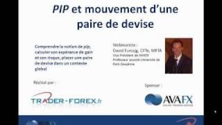 Trader Forex : Calcul d'un pip et évolution des devises