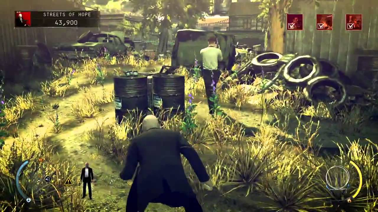 Hitman Absolution Mission 09 Shaving Lenny Gameplay Xbox360 Ps3