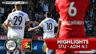 Highlights: tipico Bundesliga, 9. Runde: SK Sturm Graz - FC Flyeralarm Admira 4:1