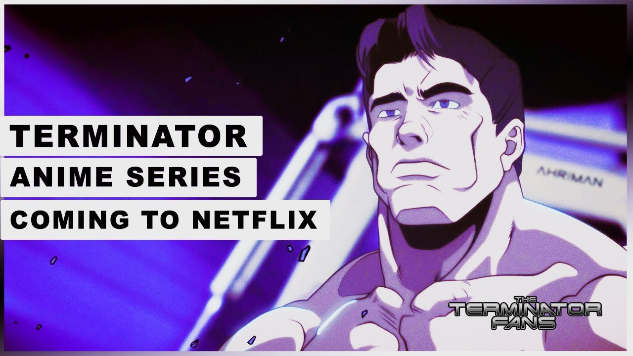 Netflix Announced Terminator New Anime Series. Produced by Production I.G