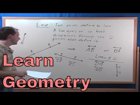 01 - Learn Lines, Rays, Planes (Geometry Tutor)