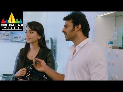 Mirchi Movie Love Scenes Between Anushka & Prabhas   Prabhas, Anushka, Richa   Sri Balaji Video