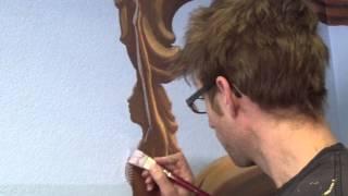 How to Create Depth With Backlighting - Mural Joe