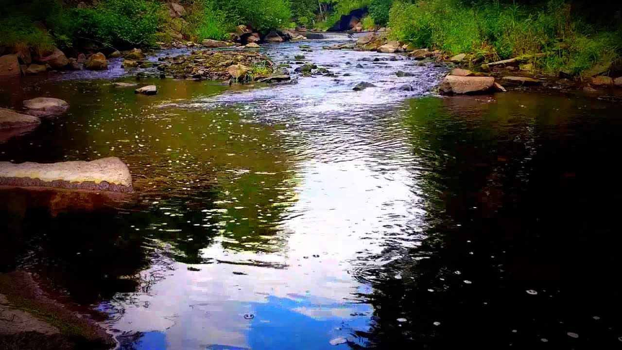 Tropical Island Beach Ambience Sound: Relaxing Quiet River