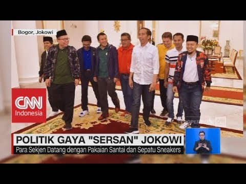 Politik Gaya 'Sersan' Jokowi