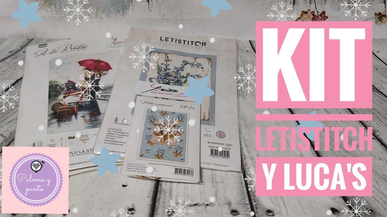 🧵🎄Novedades punto y arte ✂️ Letistitch y Luca's 🧵🎄