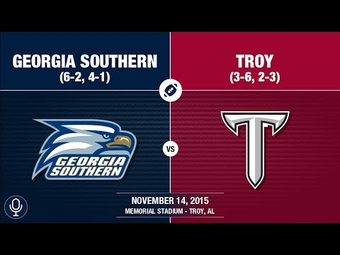 2015 Week 11 - Georgia Southern at Troy (GS Radio)