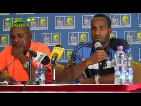 EthioTube Sports - Saladin Said of Ethiopia talks about Lesotho Game - June 2016