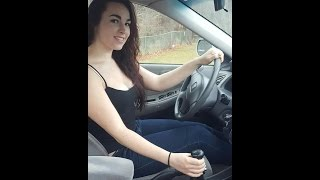 How to drive a manual stick shift: barefoot tutorial from a girl