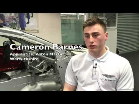 National Apprenticeship Week Aston Martin Apprentice Youtube