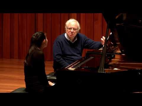 Guildhall Masterclass: Richard Goode Piano Masterclass - Yundu Wang