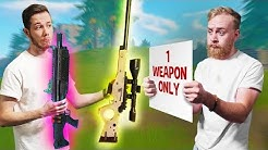 One Weapon Only Challenge! | Fortnite Battle Royale