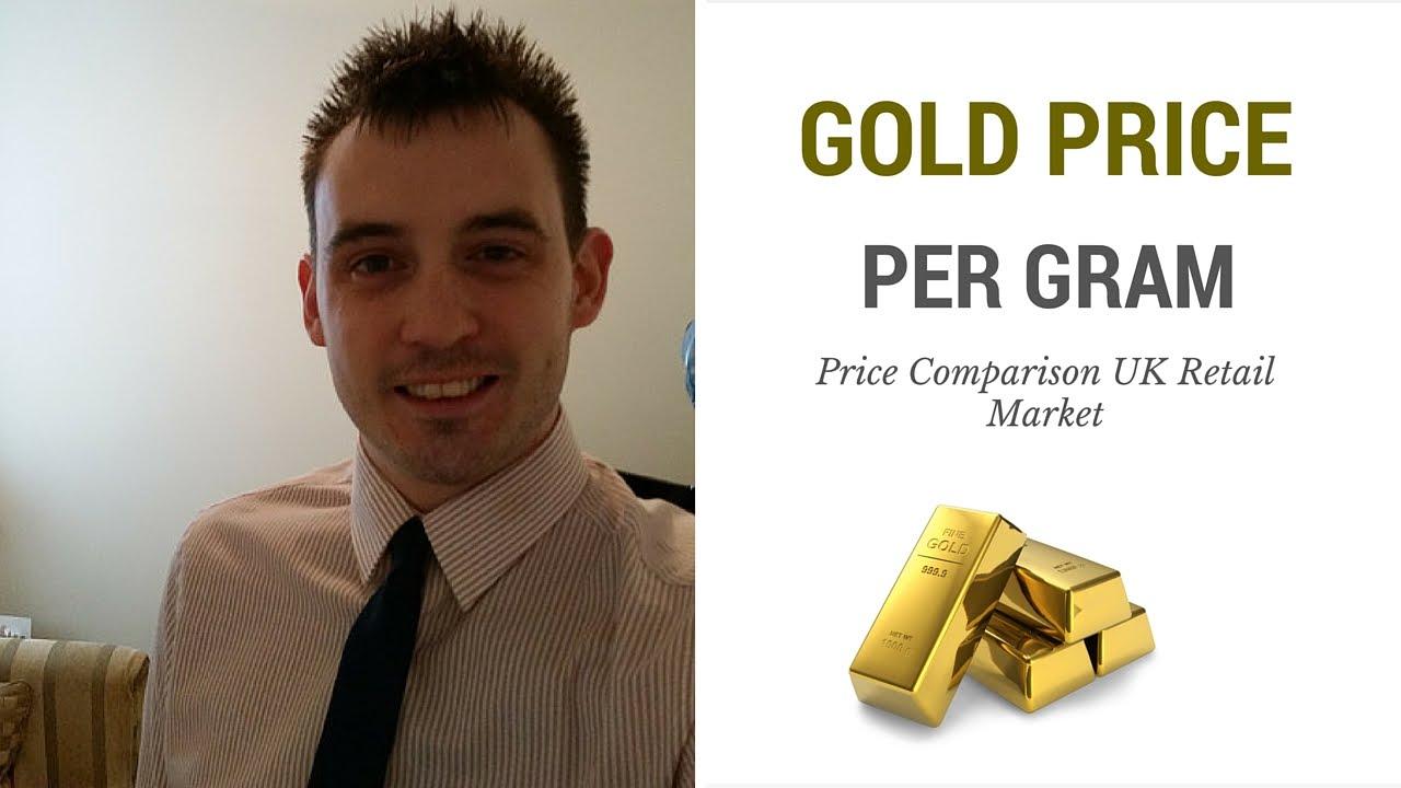 Gold Price Per Gram Comparison Uk Retail Market