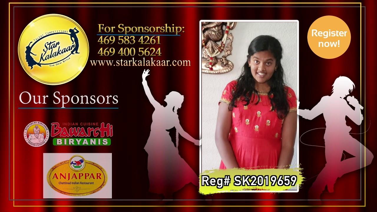 Registration NO - SK2019659 - Introduction Videos StarKalakaar-2019 #SK2019