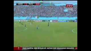 2011-12 Indonesia Super League - 28 April 2012 - Arema Indonesia vs Pelita Jaya