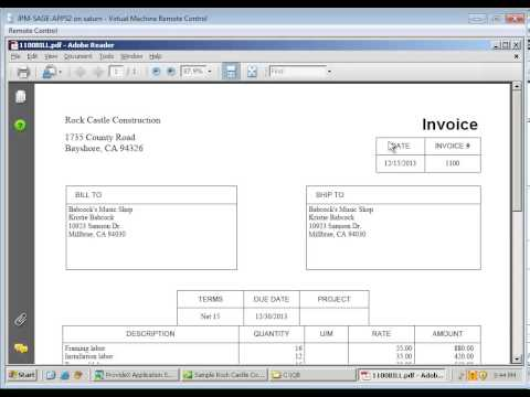 Anytime Docs - PDF Invoices from Invoice Batch in QuickBooks - YouTube