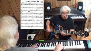 In A Shanty In Old Shanty Town - Jazz guitar & piano cover ( Ira Schuster & Jack Little )