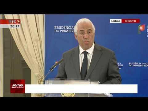 António Costa | Declaração ao País sobre os Incêndios